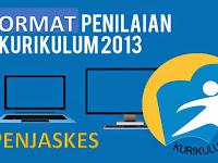 Format penilaian PJOK Kurikulum 2013