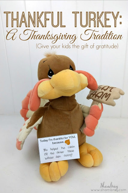 This is a great Thanksgiving tradition to do with kids.  Get your free printable today!