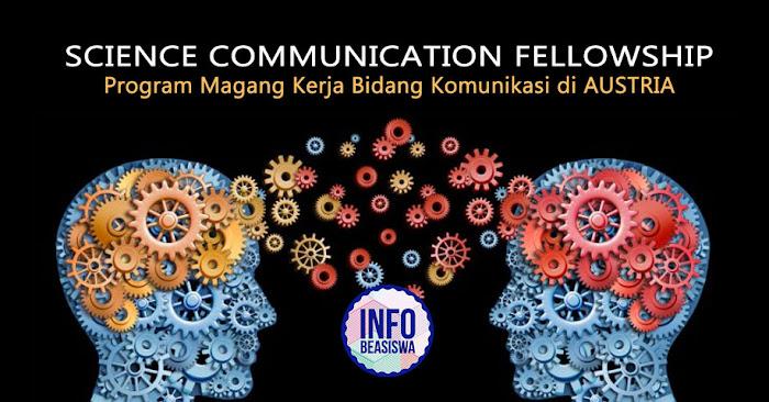 Science Communication Fellowship: Magang Kerja di Austria