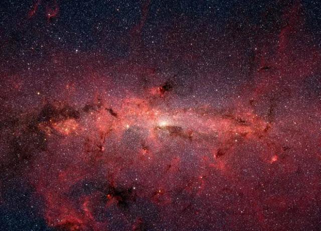 Poeira cósmica está repleta de tóxica gordura cósmica - NASA - JPL-Caltech