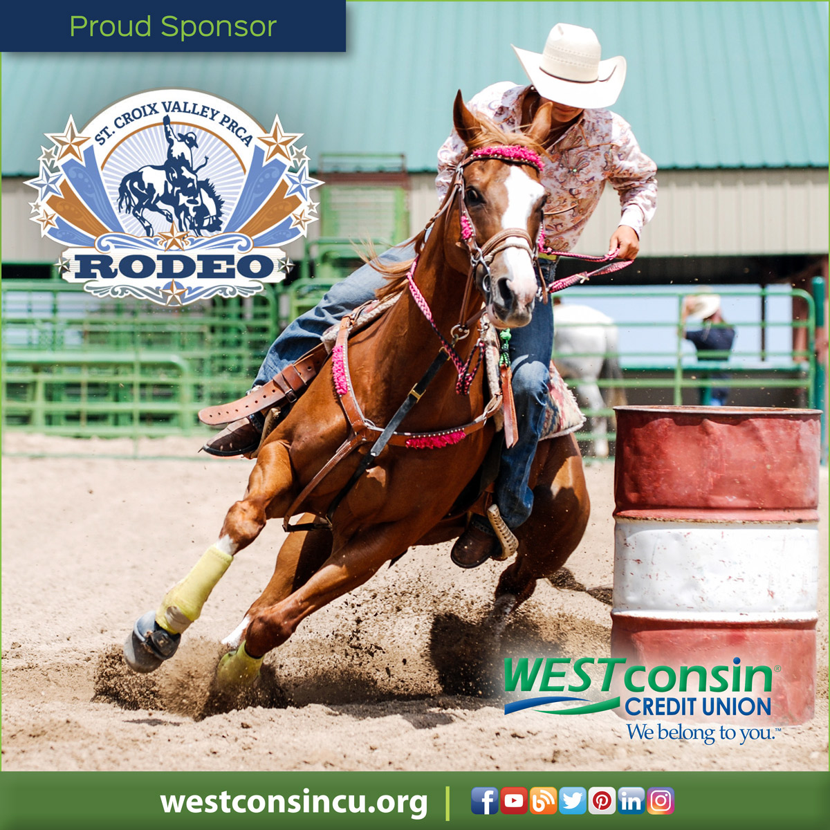 Westconsin Credit Union Blog Advance Tickets Available St Croix Valley Prca Rodeo