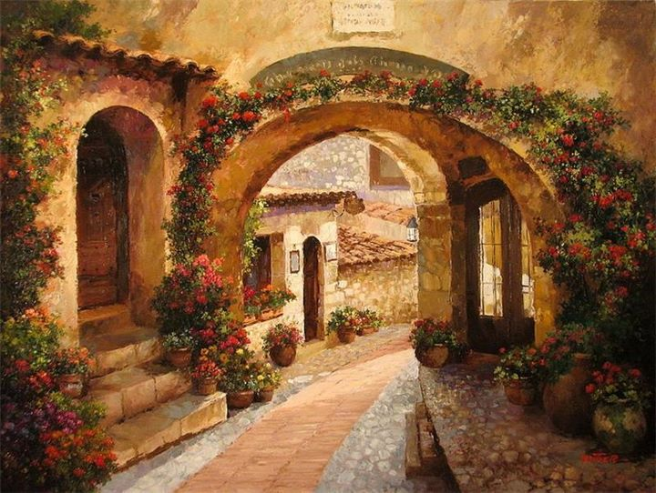 paul guy gantner  landscape painter tuttart