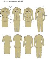 Pakaian Dinas Sesuai  Permendagri Nomor  6  Tahun 2016