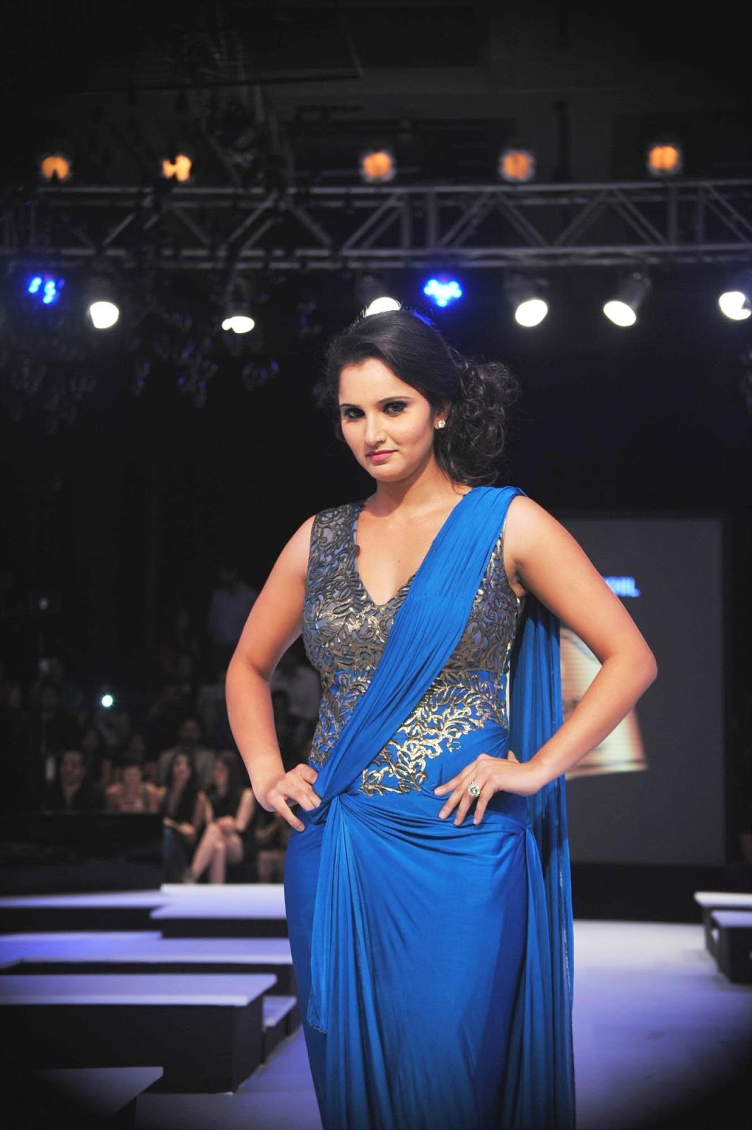 High Quality Bollywood Celebrity Pictures Sania Mirza -7316