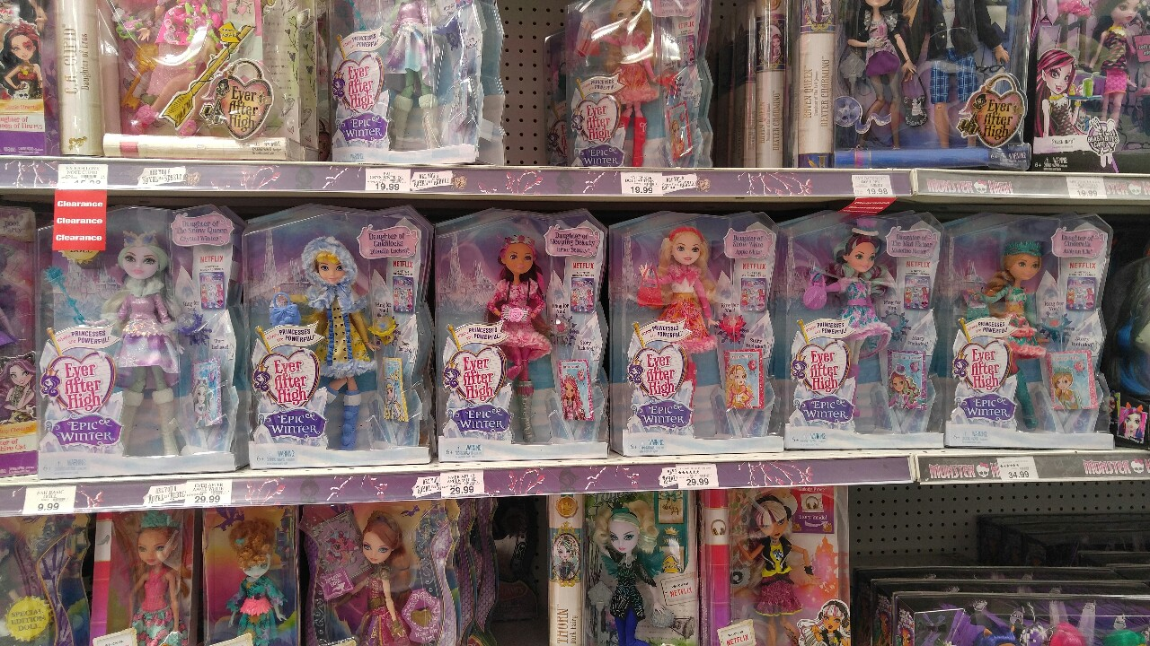 Ever After High Toys R Us : Ever after high pretty las muñecas epic