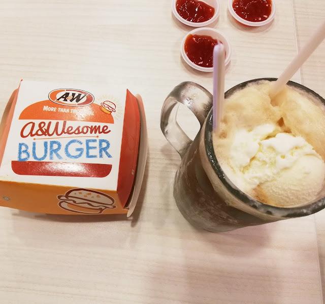 A&W DINNER TREAT ANAK-ANAK MASA CUTI !
