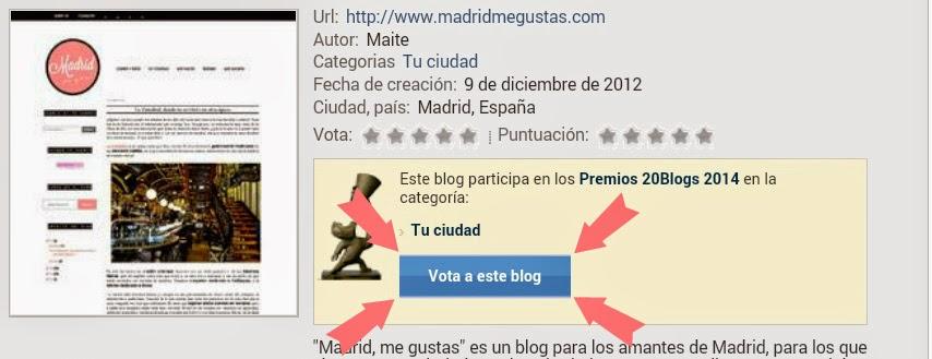Vota a Madrid me gustas