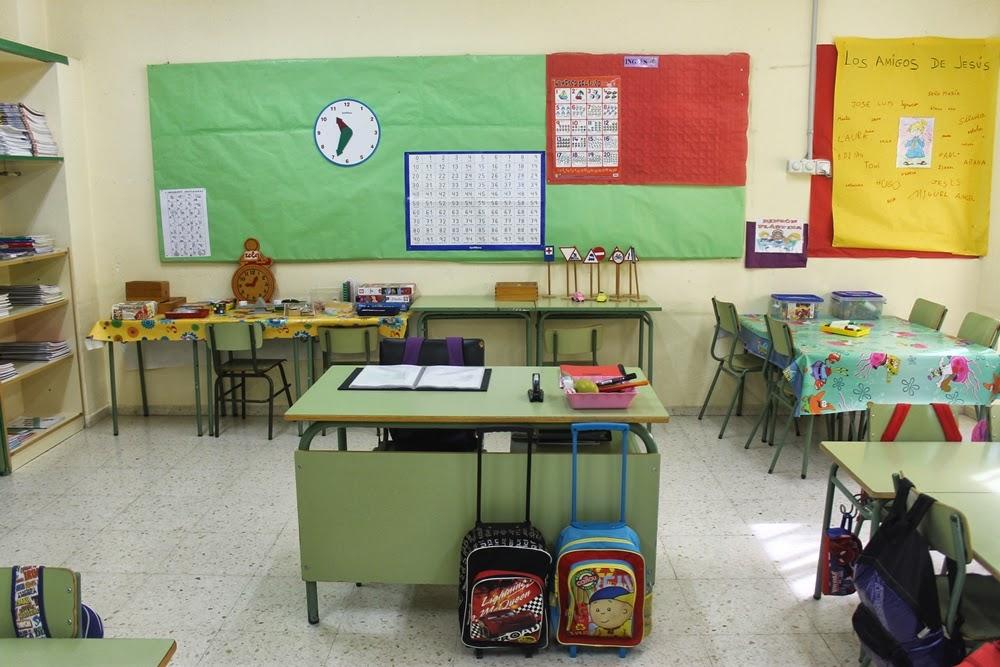 Maestra de primaria organizaci n del aula de primero for Decoracion aula primaria