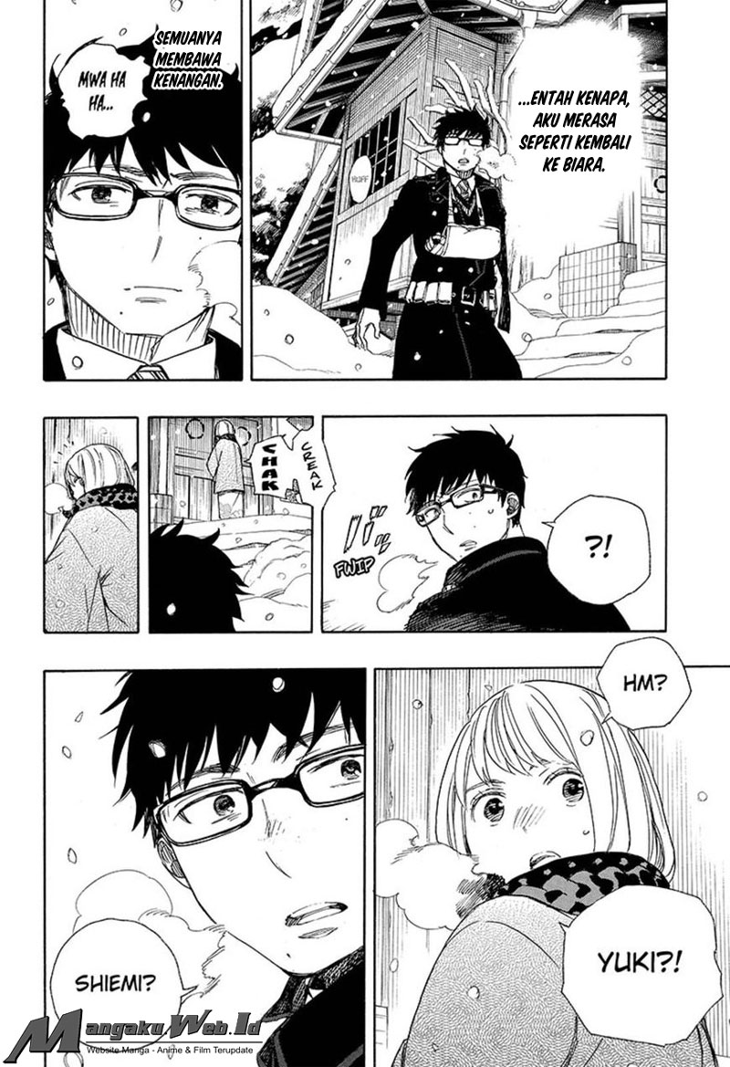 Ao no Exorcist Chapter 93-14