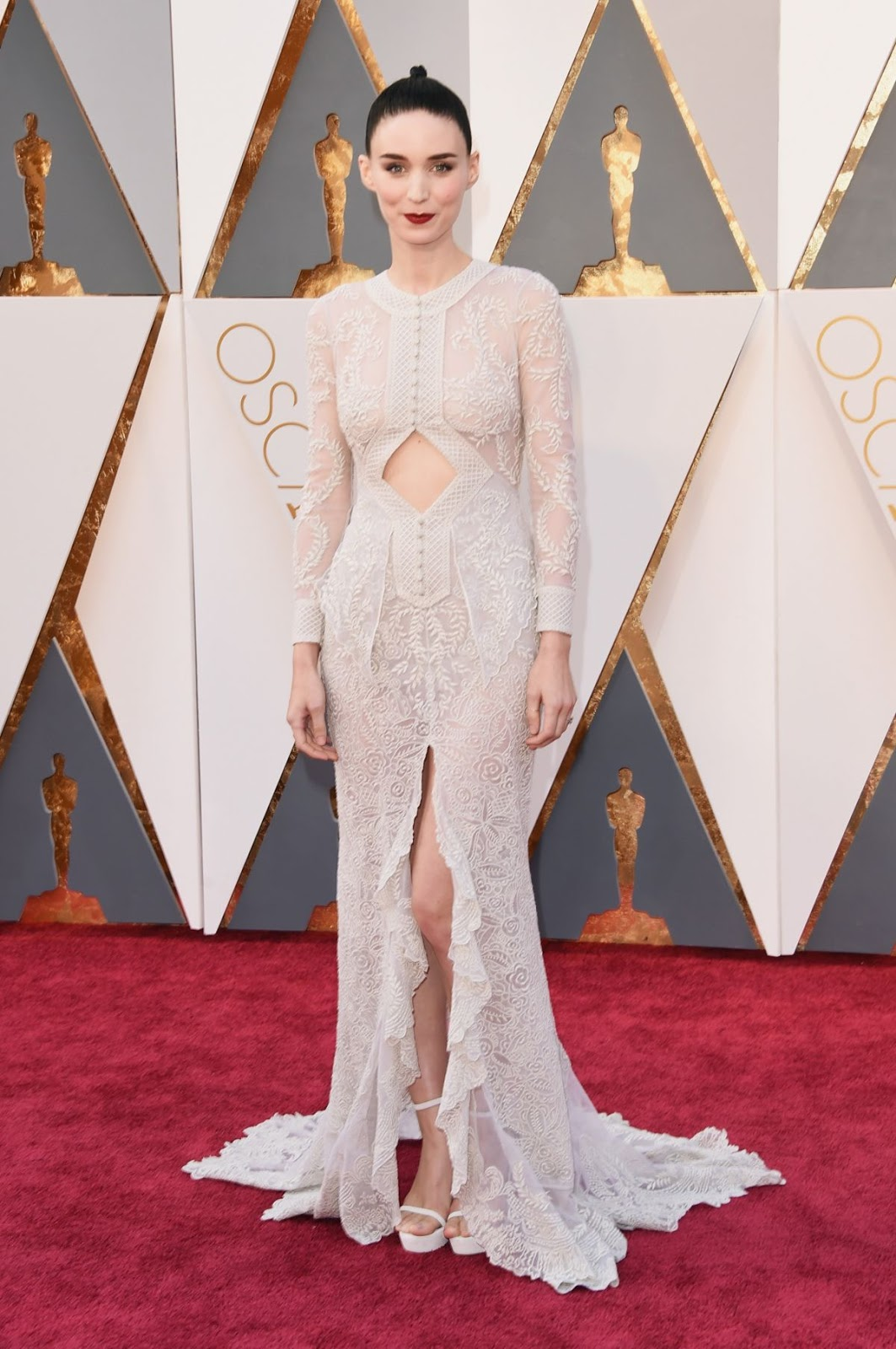 The Secret Scripture actress Rooney Mara at 88th Annual Academy Awards in Hollywood