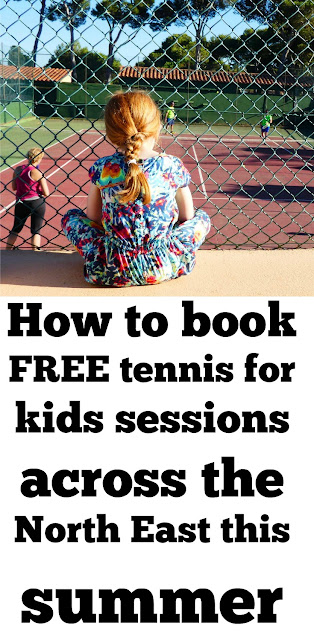 How to access free tennis sessions for kids across the North East this summer with LTA and #TennisForKids