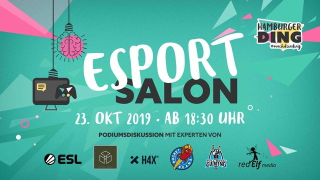 HANSEPARTNER: 1. Hamburger Esport Salon 23.10.19