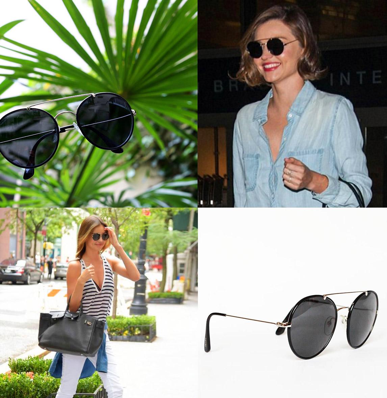 3df163e930cdc Très belles lunettes de soleil rondes PRADA. Pièce de luxe FABRIQUEE EN  ITALIE. NEUVES