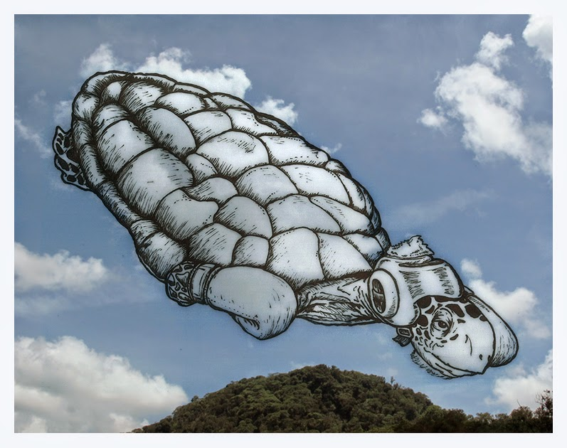 05-Boxing-Turtle-Cloud-Martín-Feijoó-Images-in-the-Sky-Cloud-Drawings-www-designstack-co