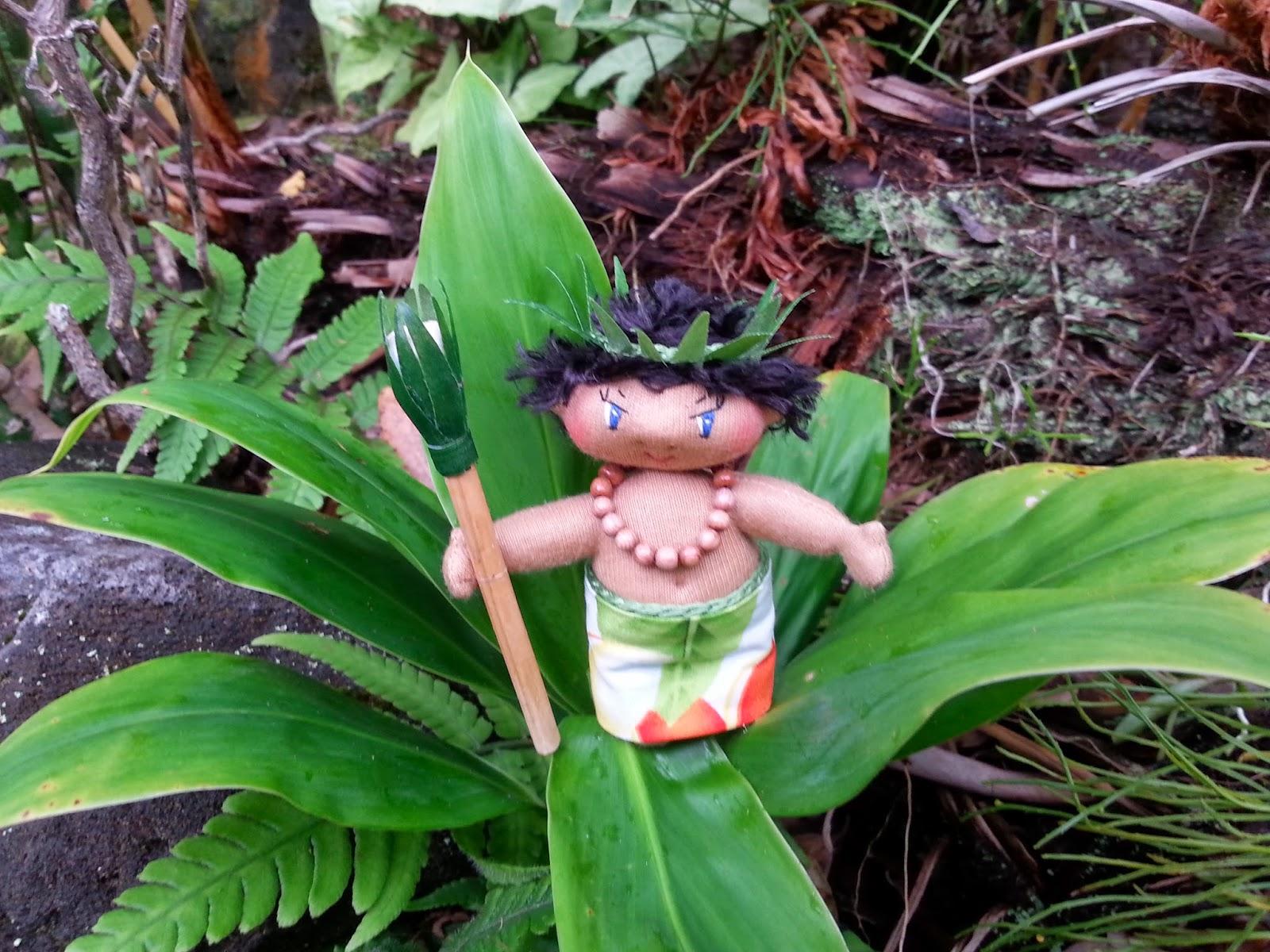 Magical hawaiian menehune dolls magical powers of hawaiian ti leaves magical powers of hawaiian ti leaves buycottarizona Gallery