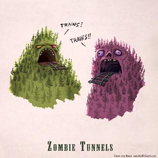 Zombie Puns (by Garth von Ahnen)