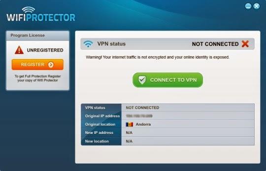 Wifi Protector VPN Gratis Terbaik 2015