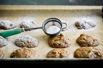Molasses Sweet Potato Cookies