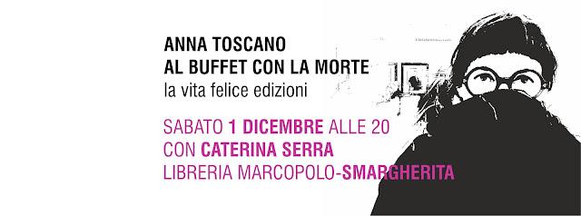 Anna Toscano alla MarcoPolo - Sabato 1 dicembre