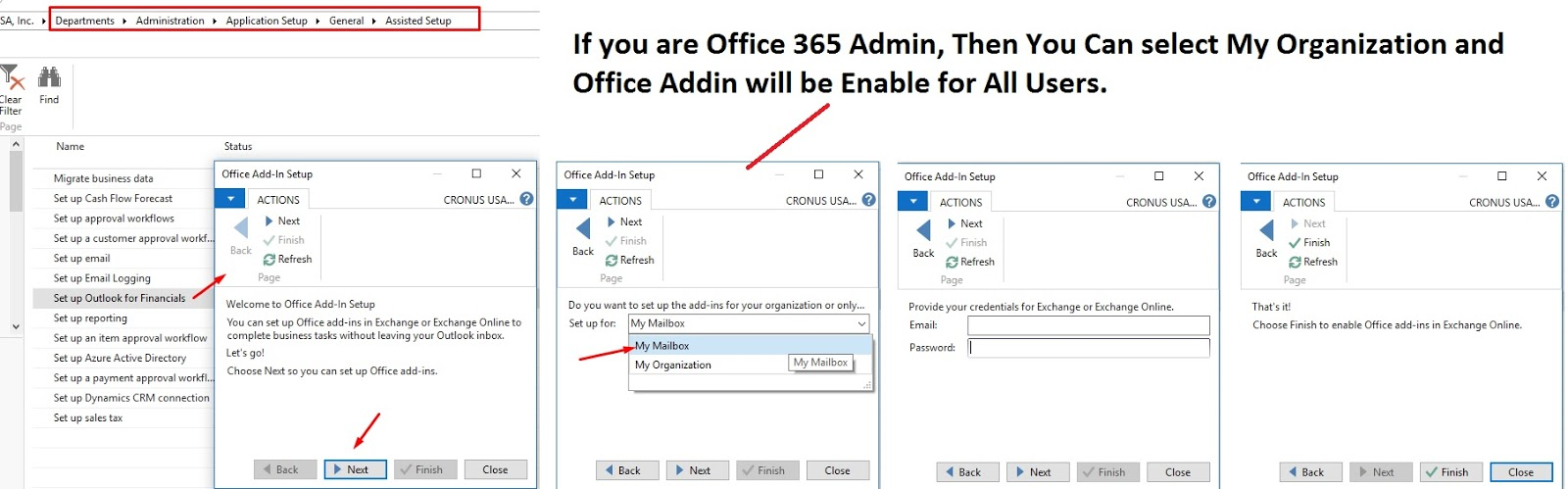 how to enable the conferencing add in for outlook 2016
