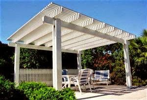 Idea de pérgola en kit