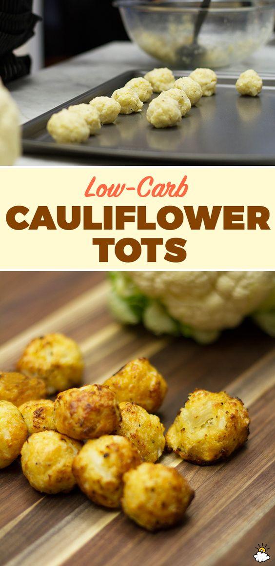 Low Carb Cauliflower Tots