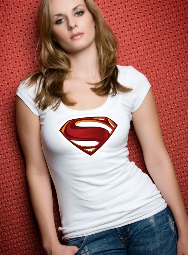 Free Superman T-shirt PSD Design
