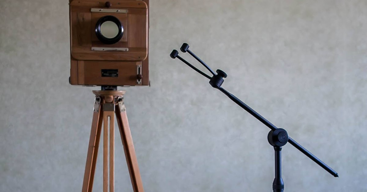 BRAND NEW Wet Plate Collodion Portrait Head Brace Stand