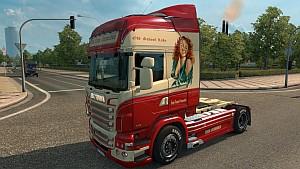 Scania RJL Trans Europe skin