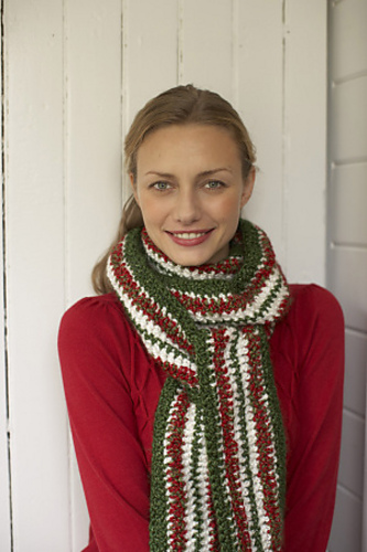 Fiber Flux Holiday Scarves 12 Beautiful Amp Free Crochet