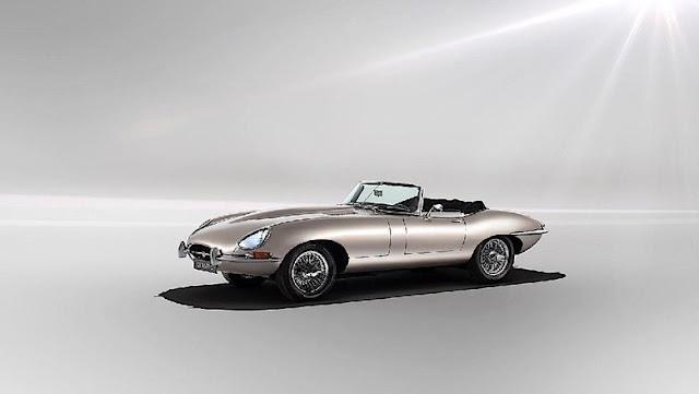 Jaguar Klasik Bertenaga Listrik
