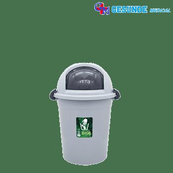 Tempat Sampah Besar Bio Dustbin Penutup Bulat