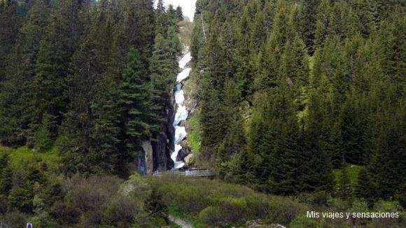 El valle de Stubai, Tirol, Austria