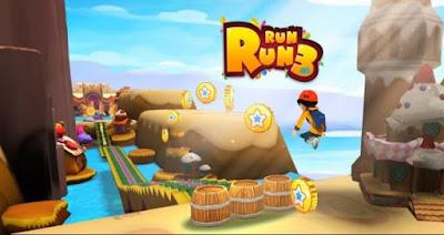 RUN RUN 3D – 3 (MOD gems/coins) Apk for Android