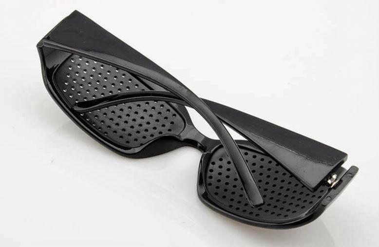 Cermin Mata Terapi Pinhole Glasses Mengurangkan Rabun dan Silau 18786ab754