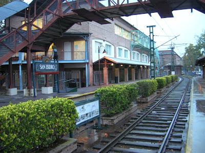 Estación de San Isidro, Tren de la Costa, Argentina, vuelta al mundo, round the world, La vuelta al mundo de Asun y Ricardo