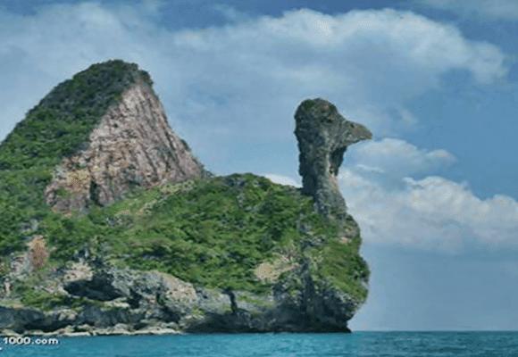 Deus-rocha-parece-ave
