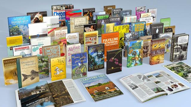 Mendapatkan Buku dan Majalah Gratis Luar Negeri