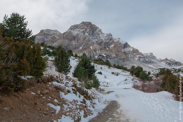 Ruta sencilla Huesca Pidrafita niños