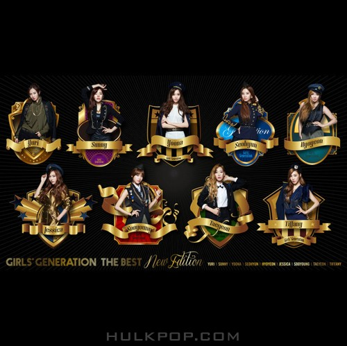 Girls' Generation – THE BEST (New Edition) (WAV + ITUNES PLUS AAC M4A)