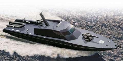 Gambar kapal Fast Patrol Boat canggih buatan Indonesia