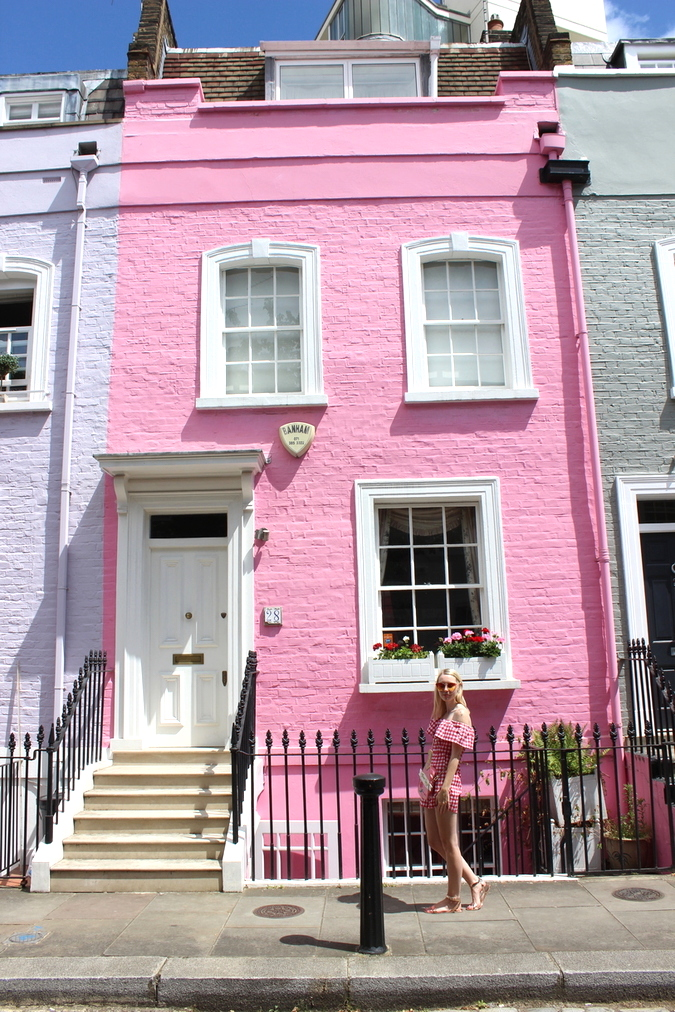 For So Long I D Admired Peggy Porschen And Many Of The Beautiful Pink Houses Doors London From An Online Kaleidoscope Hope But Never Actually Made