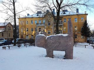 Gatto gigante Vilnius