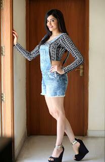 Actress Adah Sharma  Stills in Jumpsuit at Garam Movie Interview  0031.jpg