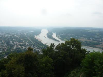 Der Ausblick vom Drachenfels-Plateu