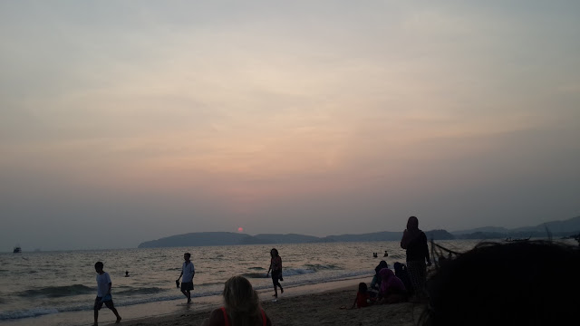 image of Sunset in Krabi