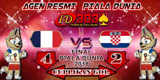 CUPLIKAN GOL FRANCE 4 - 2 CROATIA