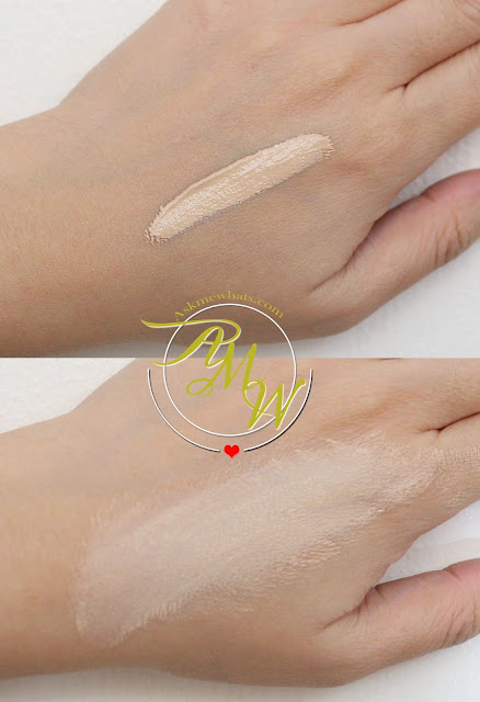 a swatch photo of Kate Tokyo Mineral Mask BB Cream