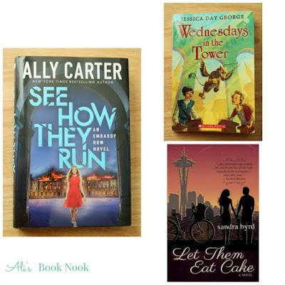 3 current books on my bookshelf reading