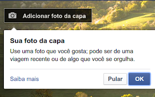 Como alterar foto da capa do Facebook